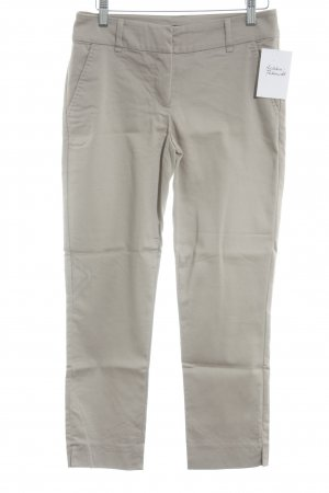 Hallhuber basic Stoffhose beige Business-Look