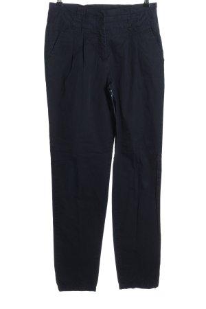 Hallhuber basic Stoffhose blau Casual-Look