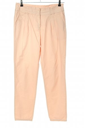 Hallhuber basic Stoffhose creme Casual-Look