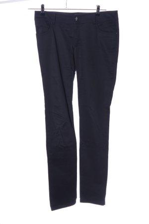 Hallhuber basic Straight-Leg Jeans schwarz Casual-Look