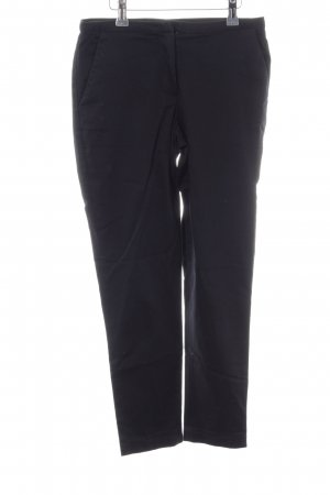 Hallhuber basic Stretchhose schwarz Casual-Look