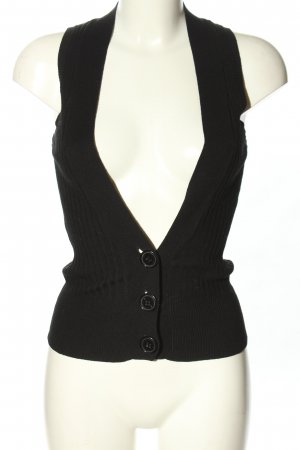 Hallhuber basic Knitted Vest black casual look
