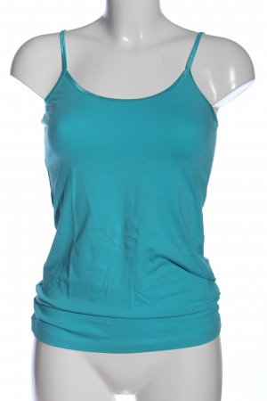 Hallhuber Basic Top blau Casual-Look