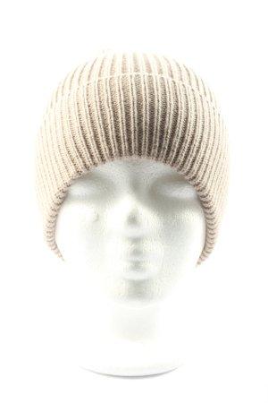 Hallhuber Bonnet blanc cassé style décontracté