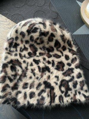 Hallhuber Bonnet multicolore laine angora