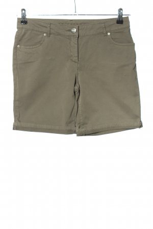 Hallhuber Shorts hellgrau Casual-Look