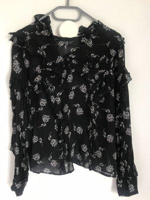 Hallhuber Black & white Bluse