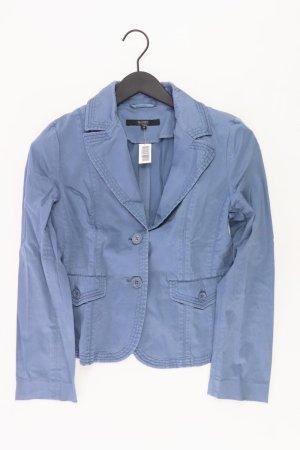 Hallhuber Blazer Größe 38 blau aus Baumwolle