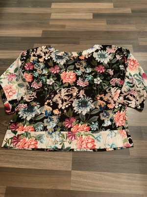 Hallhuber Blusa de seda multicolor