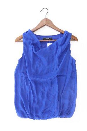 Hallhuber Bluse blau Größe 36