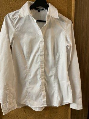 Hallhuber Cols de blouses blanc