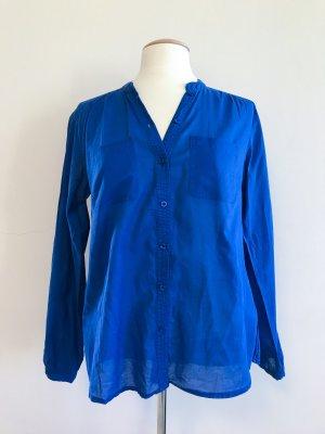 Hallhuber Bluse, marineblau, Hemdbluse, Sommerbluse, Gr.40