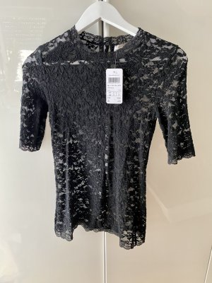 Hallhuber Donna Lace Blouse black