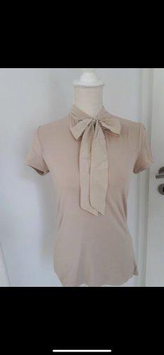 Hallhuber Bluse top Shirt Seide xs 34