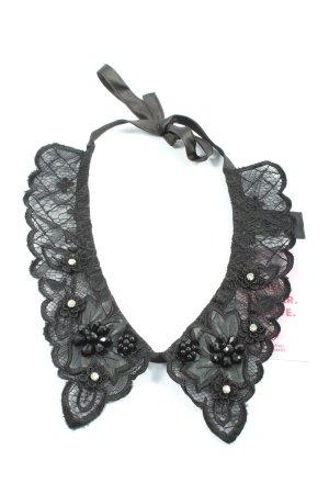 Hallhuber Blouse kraagje zwart elegant