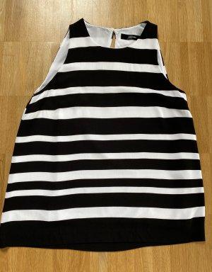 Hallhuber Blouse topje zwart-wit