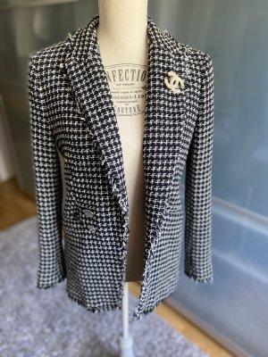 Hallhuber Tweed Blazer black-white