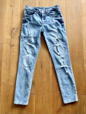 Hallhuber Jeans boyfriend bleu azur