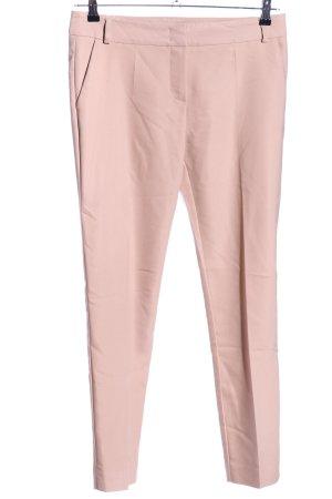 Hallhuber Bundfaltenhose pink Business-Look