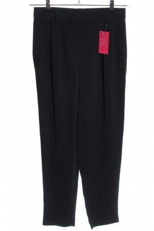 Hallhuber Pleated Trousers black business style