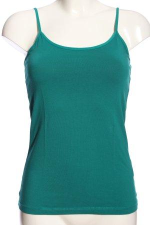 Hallhuber Camisole grün Casual-Look