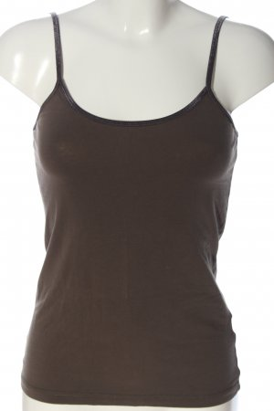 Hallhuber Camisole bruin casual uitstraling