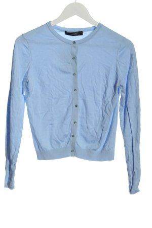 Hallhuber Cardigan blue flecked casual look