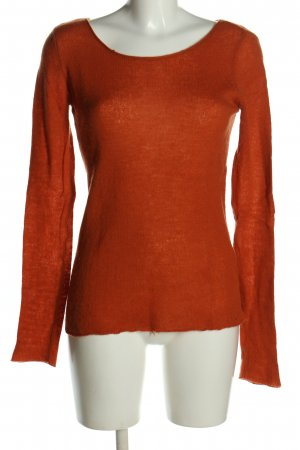 Hallhuber Cashmerepullover rot Casual-Look
