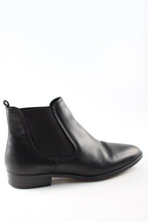 Hallhuber Chelsea Boots schwarz Casual-Look