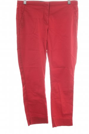 Hallhuber Chinohose rot Casual-Look
