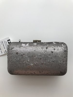 Hallhuber Clutch silver-colored