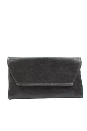 Hallhuber Clutch zwart simpele stijl