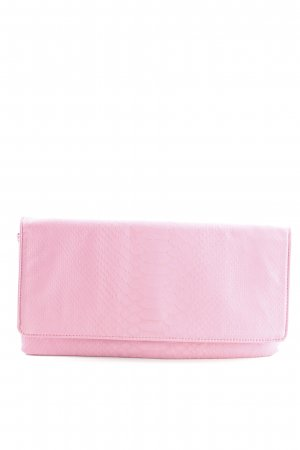 Hallhuber Clutch pink Animalmuster Business-Look