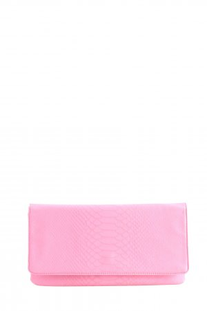 Hallhuber Clutch pink Animalmuster Casual-Look