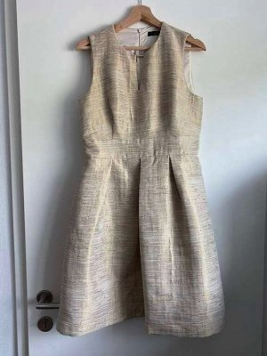 Hallhuber Cocktail Dress gold-colored-oatmeal