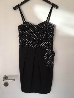 Hallhuber Sukienka gorsetowa czarny