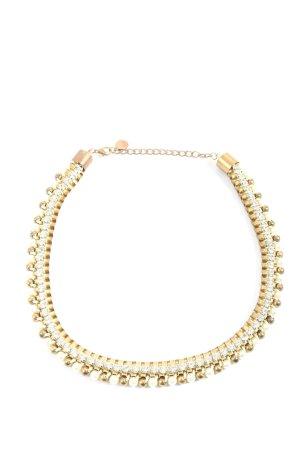 Hallhuber Collier goldfarben Elegant