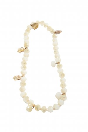 Hallhuber Collier Necklace natural white casual look