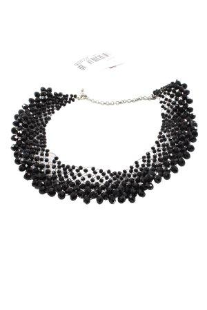 Hallhuber Collier schwarz Elegant