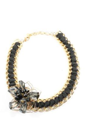 Hallhuber Collier goldfarben-schwarz Casual-Look