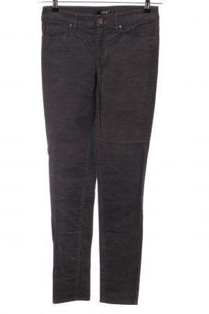 Hallhuber Corduroy Trousers black casual look