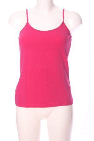 Hallhuber Basic Top pink Casual-Look