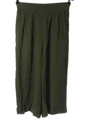 Hallhuber Culottes khaki casual uitstraling