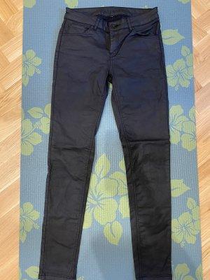 Hallhuber Spodnie rurki czarny