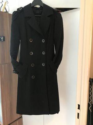 Hallhuber Abrigo corto negro