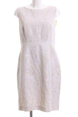Hallhuber Donna Abendkleid wollweiß Elegant