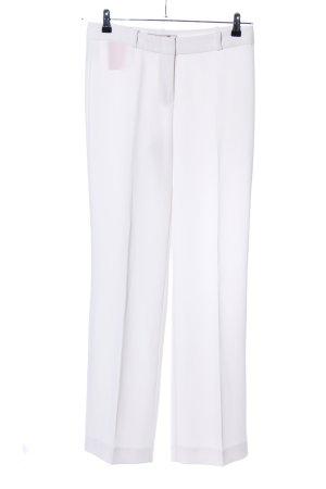 Hallhuber Donna Pantalón de vestir blanco look casual