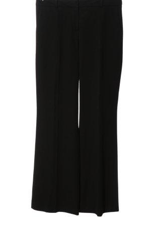 Hallhuber Donna Anzughose schwarz Elegant