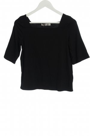 Hallhuber Donna Basic Shirt black casual look