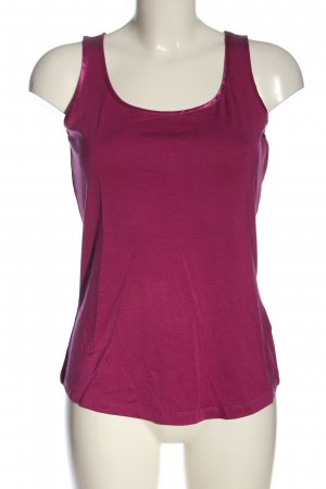 Hallhuber Donna Basic topje roze casual uitstraling
